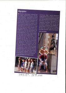 Artikel in Zack, vom 26.08.2011